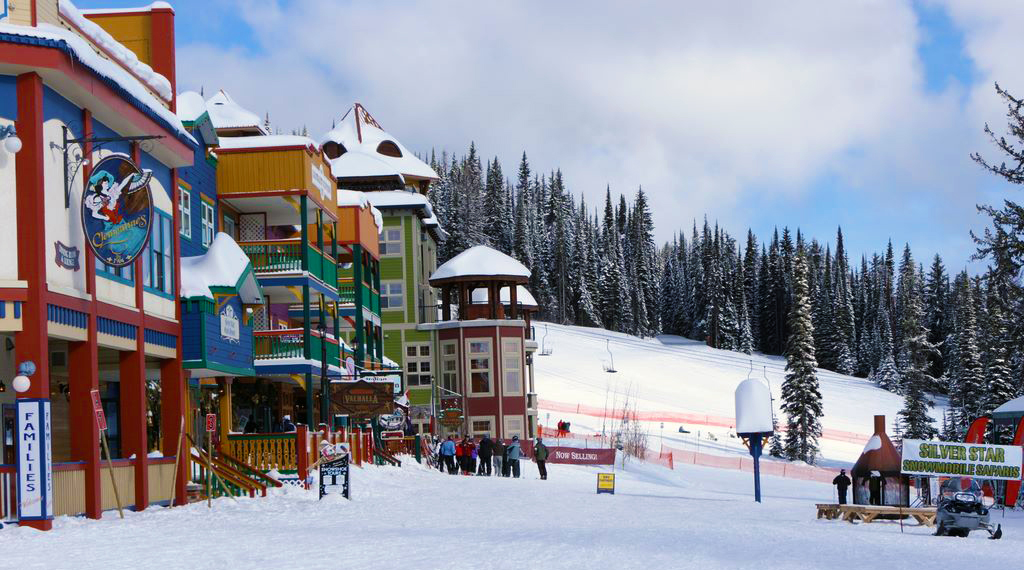 Silver Star Mountain Resort, BC